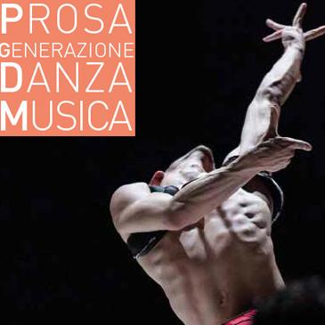Teatro Rossini: Prosa Generazione Danza Musica advertising