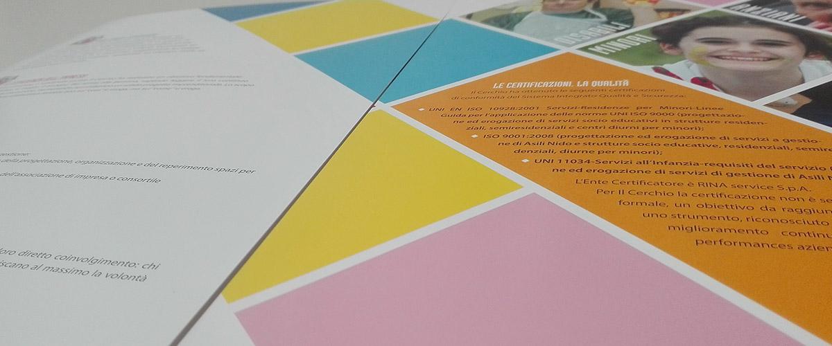 Il Cerchio: Brochure istituzionale 2016