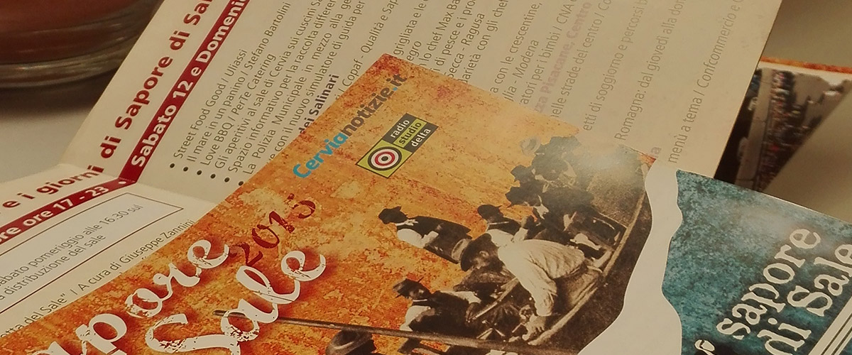 Cervia Sapore di Sale: leaflet close up